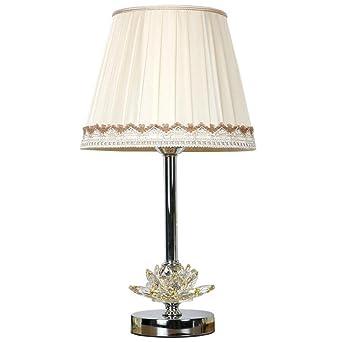 Lámpara de mesa de cristal de la moda Lámpara de mesa de la ...