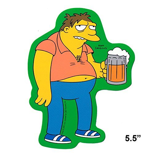 Simpsons Barney Beer Sticker S-SIM-0041 by CD Visionary