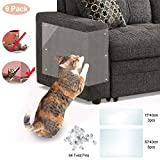 VSTON Furniture Protectors from Cats, Scratch Protection Tapes for Pet 9 Pieces Couch Guard Anti Cat Scratching Products