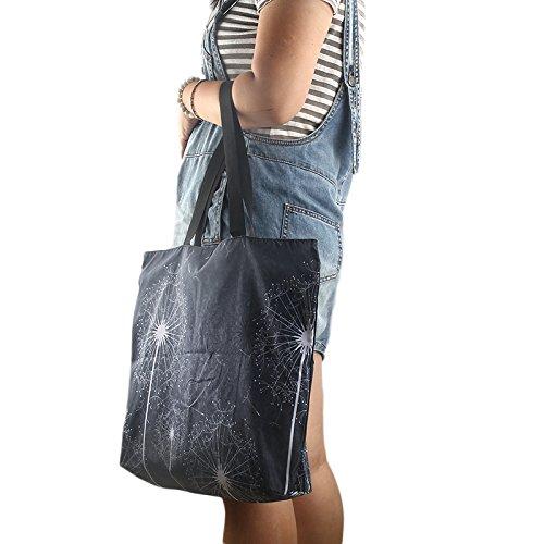 SB mujer viaje plegable ideal de Bolsas cremallera o llevar compras playa con noche impermeable para para de para 2200 ccSTf7