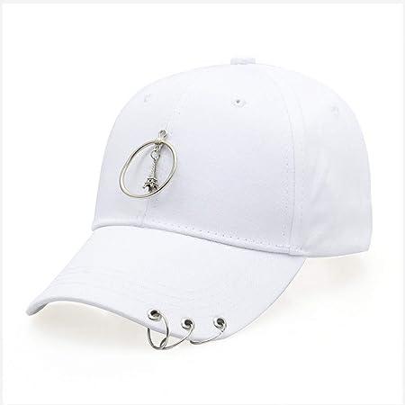 zlhcich Anillo de Acero Anillo Cinta Sombrero Pareja Tapa Moda aro ...