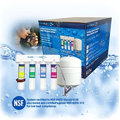 Reverse Osmosis Drinking Water System [NSF Certified, As Seen in Costco, Over 100,000 Sold]