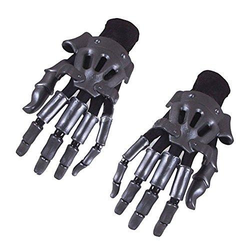 Cosplaybala Violet Evergarden Cosplay Prop Shuko ABS Finger Glove (One Size, Dark -