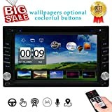"Best Car Stereo Dvd Gps - 6.2"" Double DIN Car Stereo Car GPS Navigation Review"