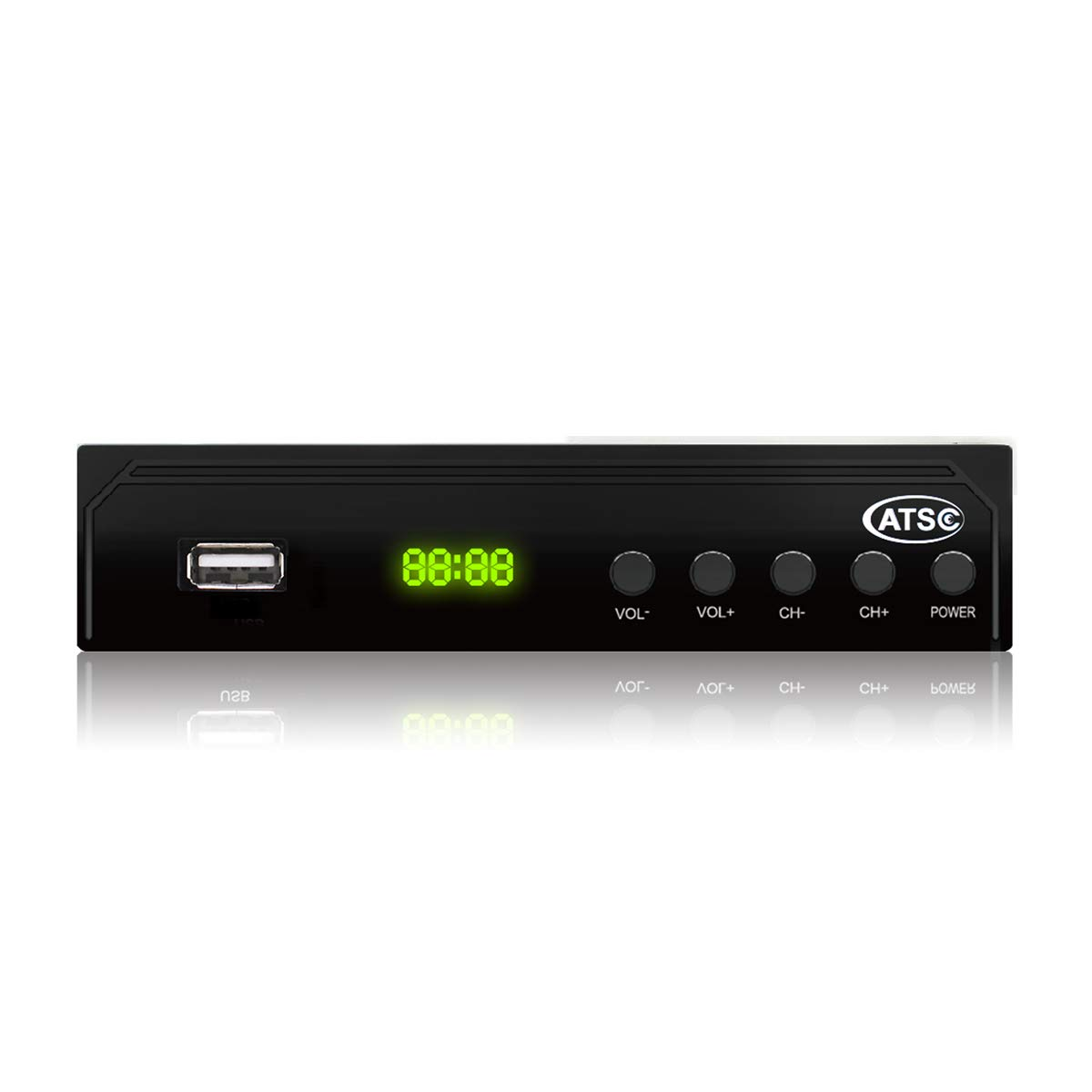 Vmade Digital Converter Box ATSC Set Top Box for Analog HDTV 1080P with AC-3/dolby,Recording,PVR Function,Pause Live TV,Sleep Timer