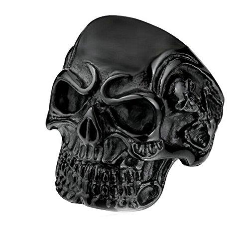 deer skull ring - 9
