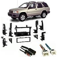 Fits Nissan Pathfinder 1996-2000 Single DIN Harness Radio Install Dash Kit