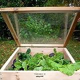 Farmer D Organics Cedar Cold Frame 3 x 3 ft.