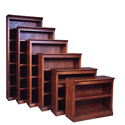 Forest Designs Mission Bookcase: 36W X 30H X 13D (One Bookcase) 30h Cherry Oak