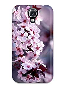 New Snap-on ZippyDoritEduard Skin Case Cover Compatible With Galaxy S4- Flower