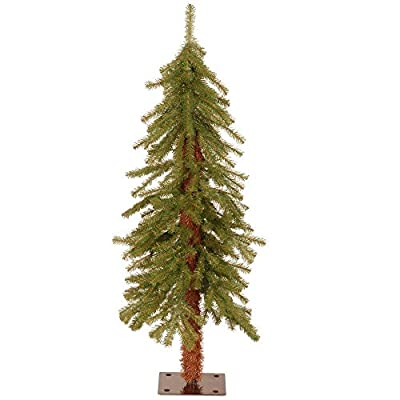 3 ft. Indoor Outdoor Hickory Cedar Artificial Christmas Tree Holiday Decoration
