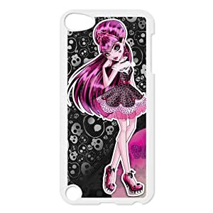 Customize Cartoon Game Monster High Back Case for ipod Touch 5 JNIPOD5-1281