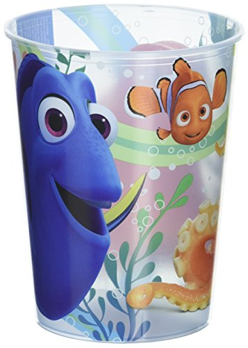 Finding Dory Party Supplies - 16 oz. Plastic Cup (Finding Nemo Birthday Party Decorations)