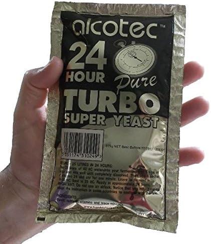 AlcoTec 24 Pure Levure Turbo 14/% 24 h