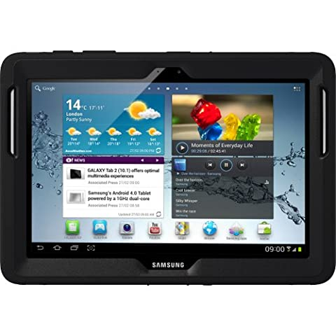 OtterBox Defender Series Case with Screen Protector and Stand for the 10.1-Inch Samsung Galaxy Tab 2 (Not for Tab A) - (Otter Box Galaxy Tablet 4)