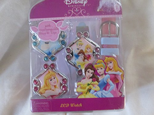 - Disney Princess LCD Watch/Interchangeable Strap Tops