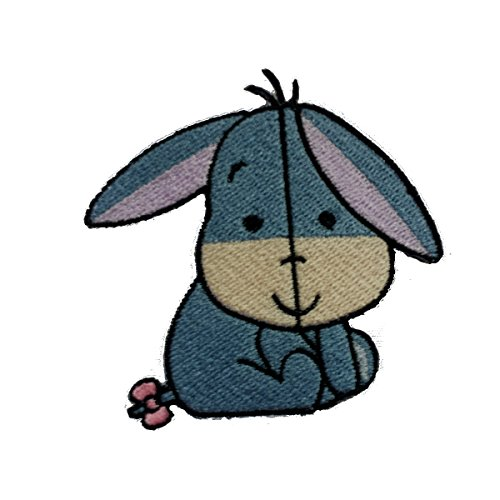 - InspireMe Family Owned Baby Eeyore Fully Embroidered Sew/Iron On Patch 2.75