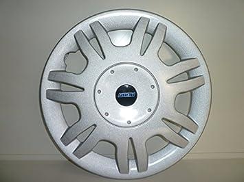Juego de Tapacubos 4 Tapacubos Diseño de Fiat Bravo Steel Trofeo r 14 /: Amazon.es: Coche y moto