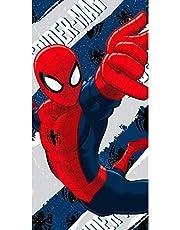 Artesanía Cerdá 2200002159 Toalla Playa algodón, diseño Spiderman