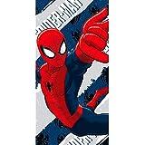 Artesanía Cerdá 2200002159 - Asciugamano da spiaggia in cotone, motivo Spiderman