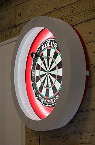 amazon com bulls termote led dartboard lighting system sports