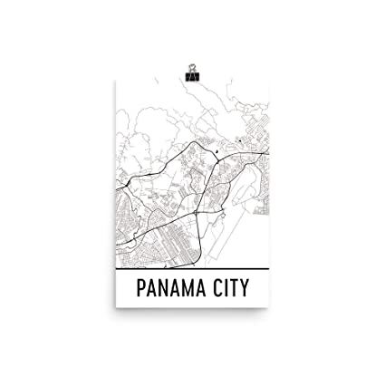 Amazon.com: Panama City Print, Panama City Art, Panama City ...