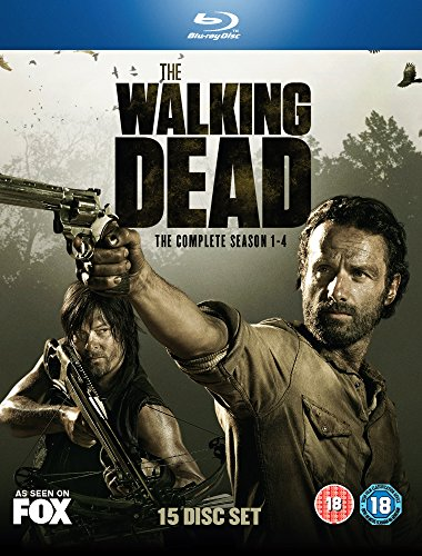 The Walking Dead Complete Season 1-4 Blu-ray (Requires Region B/2 or Multi Region Player)