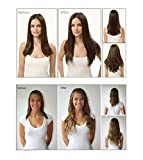 Clip in Hair Extensions Synthetic Full Head