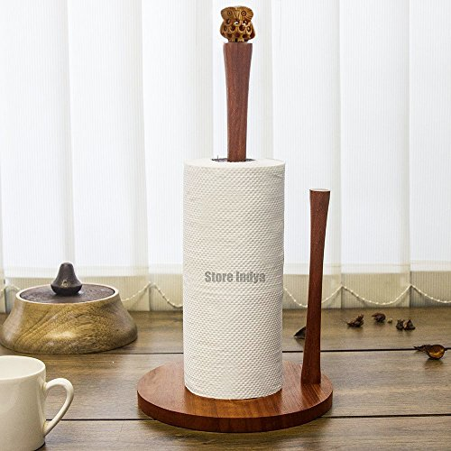 Christmas Gift Wooden Kitchen Paper Towel Holder (7 x 13