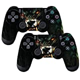 Cheap SubClap 2 Packs PS4 Controller Skin, Vinyl Decal Sticker Cover for Sony PlayStation 4 DualShock 4 Wireless Controller (Animal)