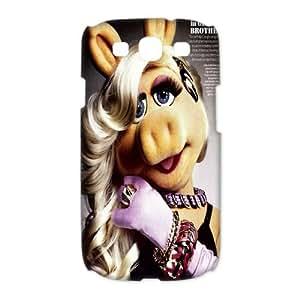 Mystic Zone Miss Piggy Samsung Galaxy S3 Case for Samsung Galaxy S3 Hard Cover Cartoon Fits Case HH0649