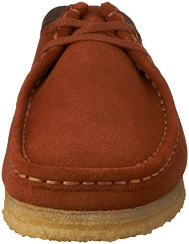 CLARKS Men's Wallabee Shoe Dark Tan Suede clearance affordable good selling clearance ebay outlet eastbay outlet shop for ByRAQOaNAR