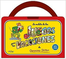 La maleta de los juegos para las vacaciones de Geronimo Stilton: Geronimo Stilton: 9788497547703: Amazon.com: Books