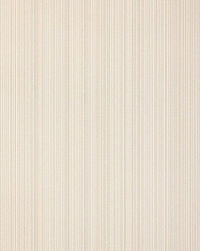 Stripes-wallpaper wall EDEM 557-13 blown vinyl wallpaper textured with a fabric look matt beige light-ivory grey-beige 5.33 m2 (57 ft2)