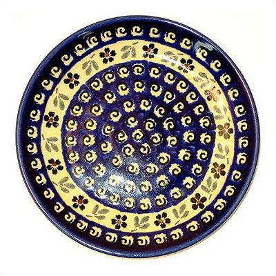 - Euroquest Imports Polish Pottery 175A Series Euroquest Imports Polish Pottery-Cheese Cutting Board - Pattern 175A