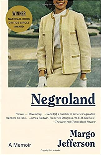 Image result for negroland book margo jefferson