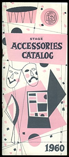 T S Denison Stage Accessories catalog 1960 make-up wigs facial hair music ++ - Wig Catalogs