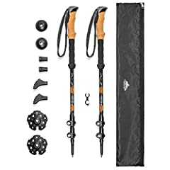 Quick Lock aluminum trekking poles looking for quality trekking poles at a great price? If so, the quick lock hiking poles from Cascade Mountain Tech are for you. This pair of adjustable trekking poles are made from aluminum. Plus, each pair ...