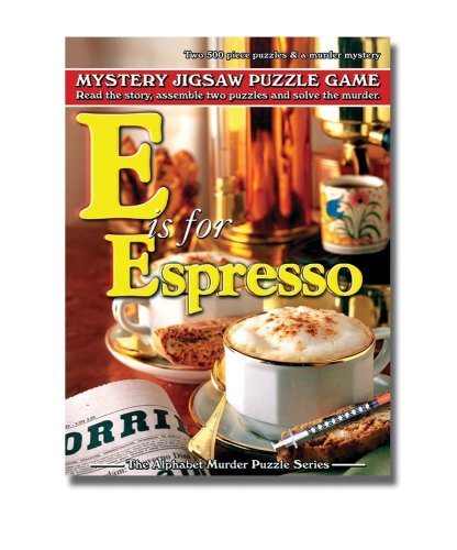 (TDC Games Alphabet Mystery Puzzle - E Is For Espresso)
