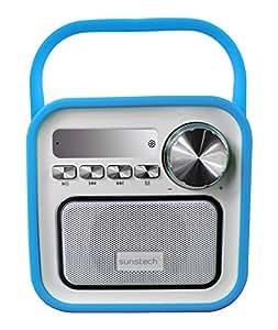 Sunstech RPBT420BL - Radio portátil (digital FM, altavoz