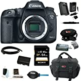 Canon EOS 7D Mark II Digital SLR Camera (Body Only) with 64GB Deluxe Accessory Kit
