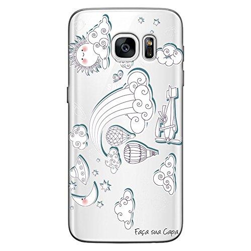 Capa Personalizada para Samsung Galaxy S7 Edge Figurinhas - TP08