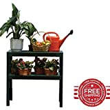 Outdoor Potting Bench Garden Plant Storage Gardening Table Shelves Furniture & E book By Easy2Find