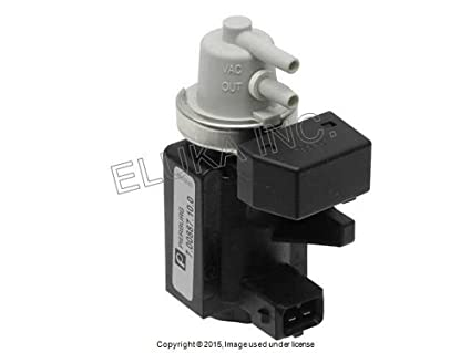 bmw genuine turbocharger boost solenoid valve (pressure converter) front  rear x5 50ix x6 50ix