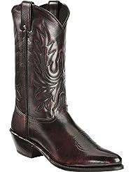 Abilene Mens Cherry Polished Cowhide Boot - 6461