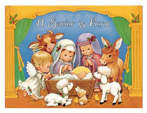 Nativity Christmas edible image cake topper decoration frosting sheet