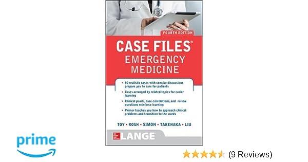 Case Files Emergency Medicine, Fourth Edition: 9781259640827