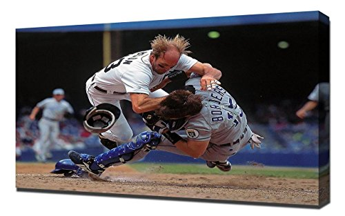 Kirk Gibson - Canvas Art Print - Wall Art - Canvas Wrap