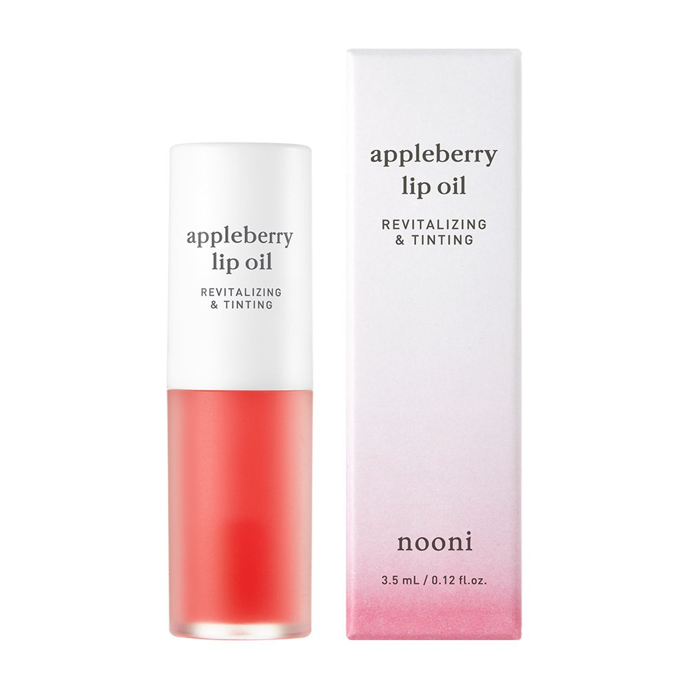 NOONI Appleberry Lip Oil 0.12 Ounces, Healing ointment, Lip treatment, Tinted lip oil, Lip care, Essential oils, Natural moisturizing tint gloss, Soothing lip water, Tinting revitalizing, Lip primer by NOONI (Image #3)