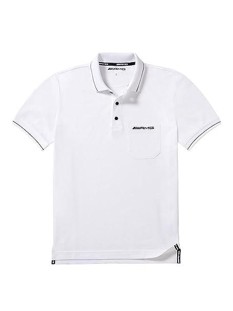 Mercedes-Benz - Polo - para Hombre Blanco XL: Amazon.es: Ropa y ...